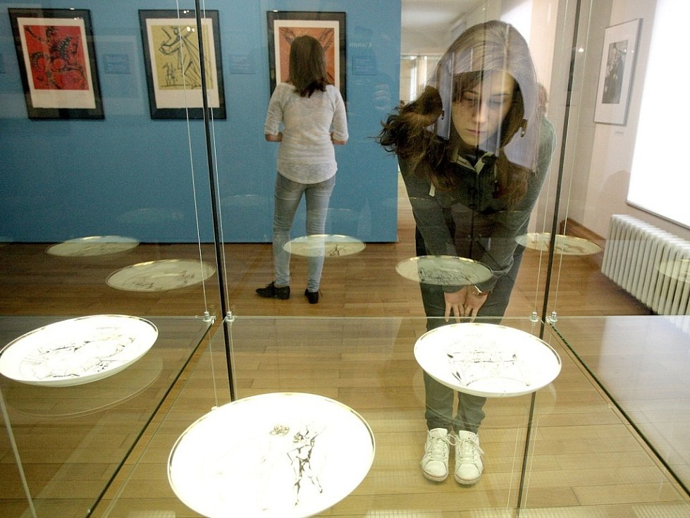Výstava Salvadora Dalího v Brně.