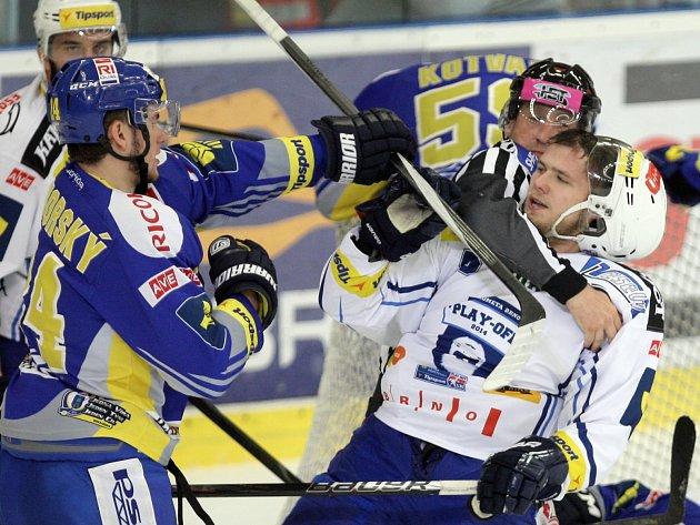 Hokejisté Komety podlehli Zlínu ve třetím finálovém utkání 1:4.
