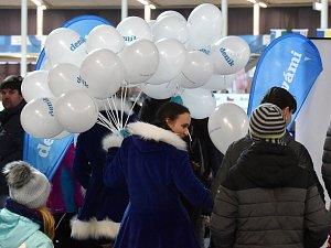 Neděle 18. února na Olympijském festivalu v areálu brněnského výstaviště
