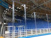 V brněnské DRFG Aréně jsou nová světla, přibyly tam také nové mantinely včetně plexiskel.