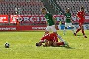 Fotbalisté brněnské Zbrojovky prohráli popáté v řadě, tentokrát 27. kole první ligy podlehli Jablonci 0:3.