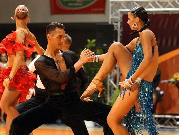 V brněnské hale na Vodové se konalo mistovství České republiky v latinsko-amerických tancích