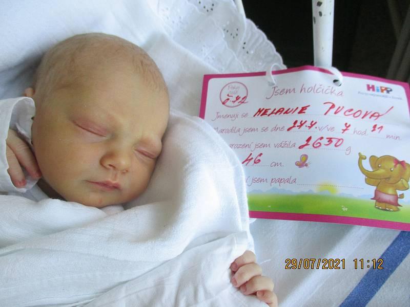 Melanie Pucová, 27. 7. 2021, Přítluky, Nemocnice Břeclav, 2650 g, 46 cm