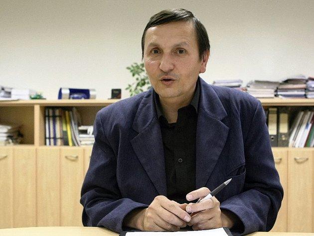 Vedoucí odbor dopravy brněnského magistrátu Vladimír Bielko.