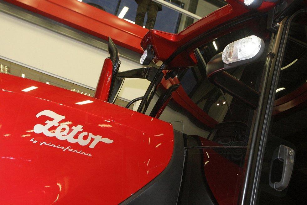 Před pěti lety k sedmdesátému výročí představil brněnský Zetor na prototypu traktoru nový design.