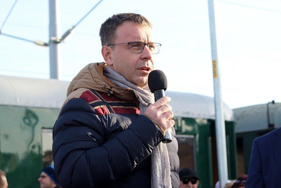 Ministr dopravy Vladimír Kremlík.