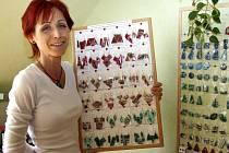 Dita Fleischlingerová se svými výrobky