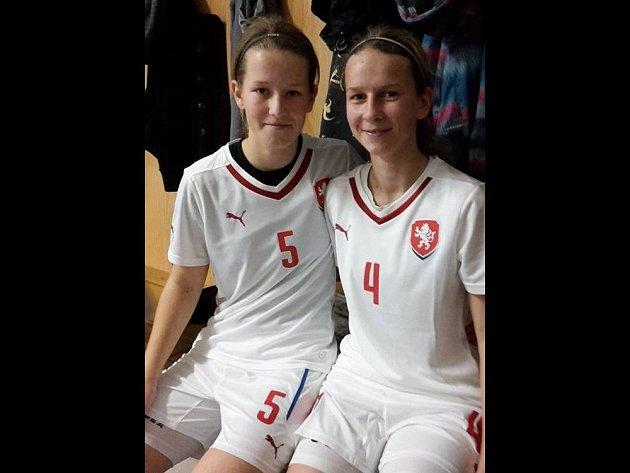 Iva Veselá a Gabriela Špičková.