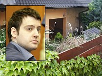 Čtyřnásobný vrah Kevin Dahlgren a místo činu v brněnských Ivanovicích, kde před pěti lety vyvraždil čtyřčlennou rodinu.