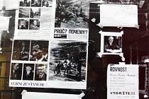 Ulice Brna se po příjezdu sovětských vojsk zaplnily protestujícími lidmi a protirevolučními hesly.