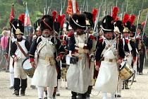 Francouzi opět pochodovali Slavkovem