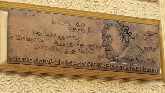 Básník Ivan Blatný.