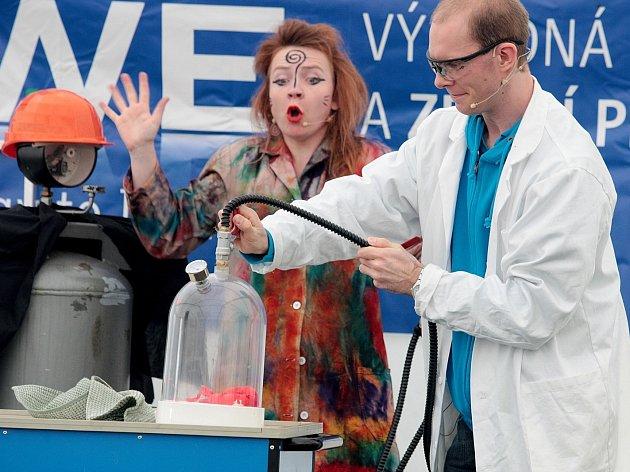 V pátek na brněnské hvězdárně odstartoval Festival vědy.