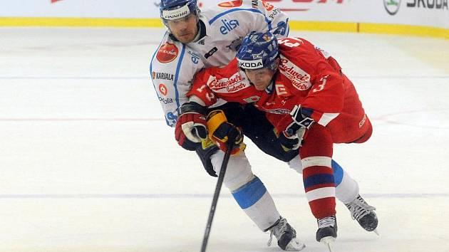 Česká hokejová reprezentace porazila ve svém úvodním zápase Českých her tým Finska 2:1.