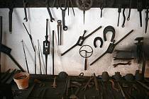 Barokní kovárna v Těšanech v sobotu hostila kovářský den.