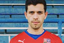 Mladý lékař a současně fotbalista David Kintr.
