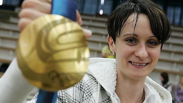 Olympionička Martina Sáblíková.