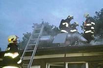 Restaurace v brněnské Klobásově v noci na pondělí hořela.