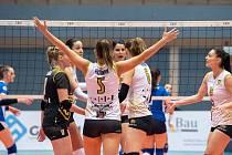 Šelmy Brno postoupily do osmifinále Poháru CEV.