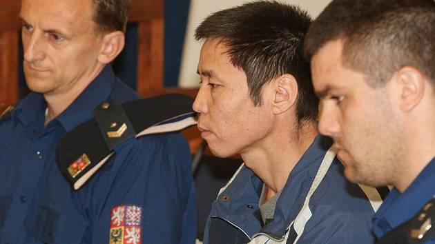 Erdenebat Duu u brněnského krajského soudu.