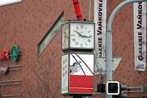 Bomba na hodinách - Galerie Vaňkovka
