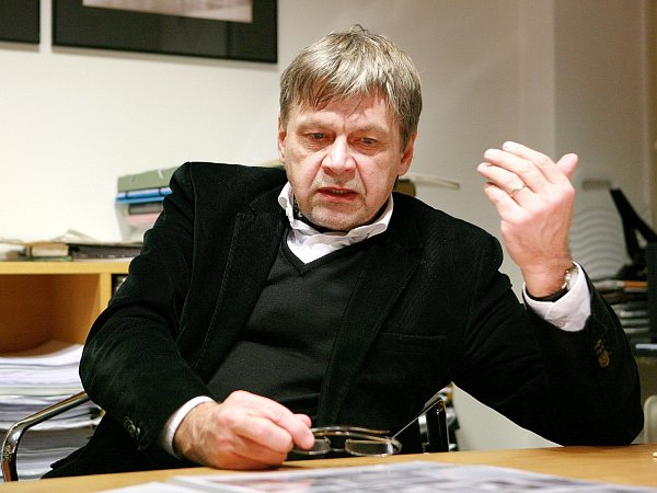 Architekt Petr Hrůša.
