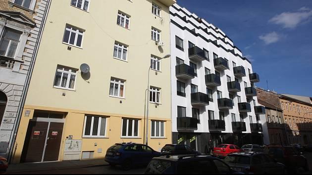 Ulice Francouzská v Brně