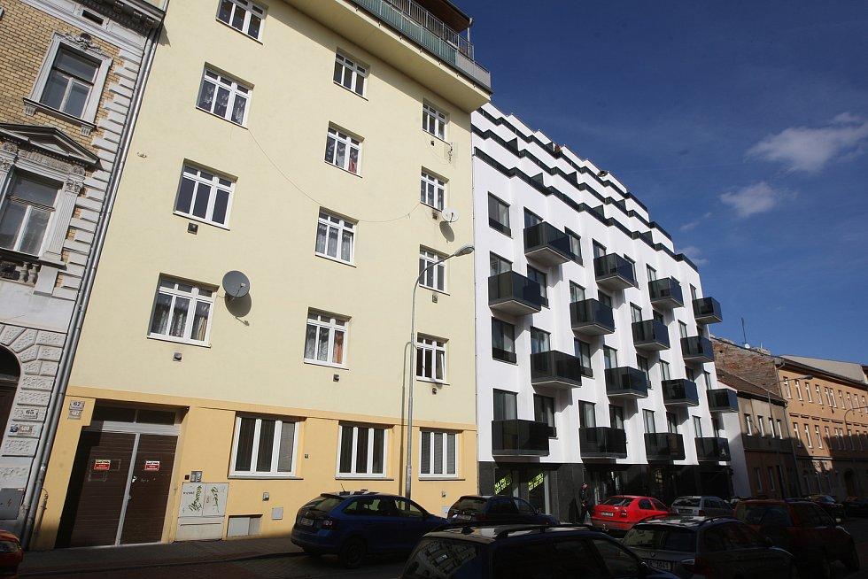 Brno 6.3.2019 - ulice Francouzská v Brně