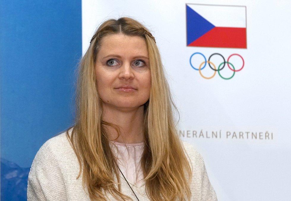 Tisková konference k Olympijskému festivalu 2020 - Lucie Šafářová.