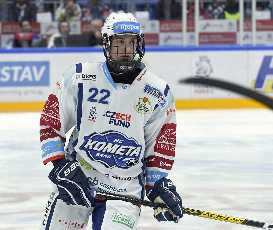 Brno 18.2.2020 - HC Kometa Brno - Jakub Brabenec