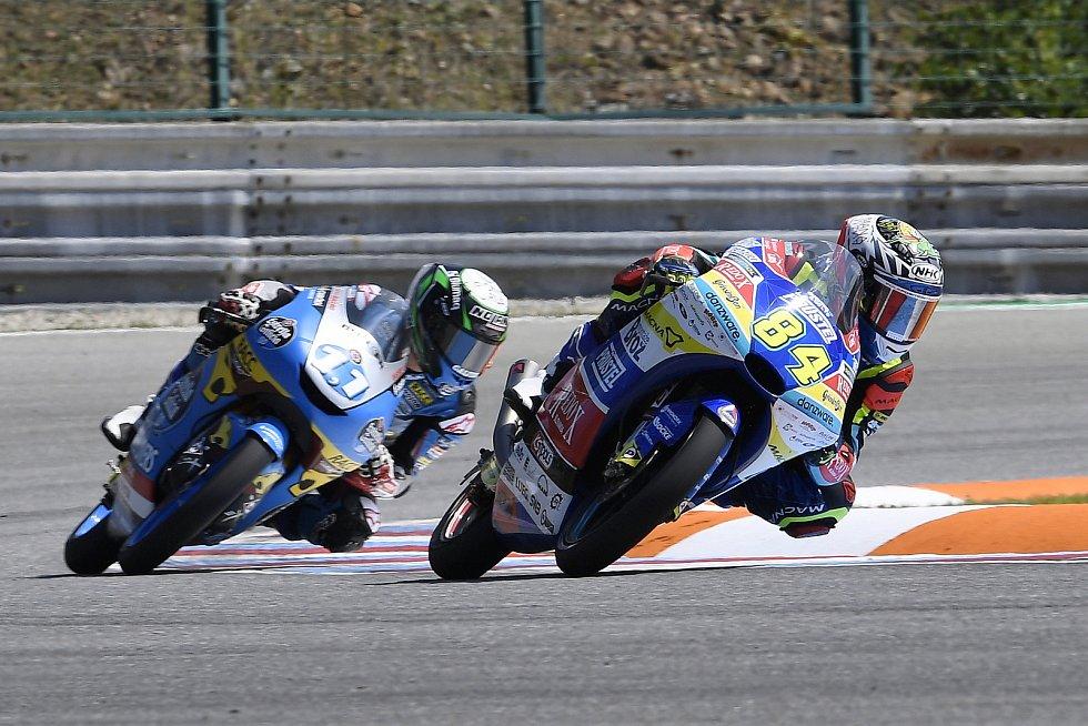 Brno 04.08.2019 - Moto GP 2019 - závod Moto 3 - Jakub Kornfeil
