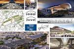 Grimshaw Architects, AFRY CZ (Londýn – Praha): Nádraží Curzon Street, Birmingham, Spojené království. Vizualizace.