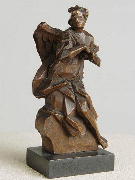 Sochařské návrhy bavorského sochaře Johanna Baptisty Strauba.