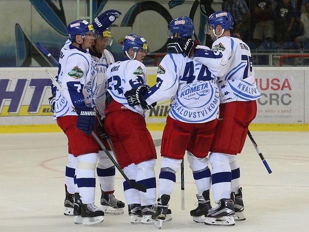 Kometa Brno přesvědčivě porazila Slovan Bratislava.