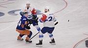 Po parádní hokejové přestřelce slaví hokejisté Komety postup do čtvrtfinále Ligy mistrů.