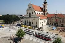 Oprava Moravského náměstí.