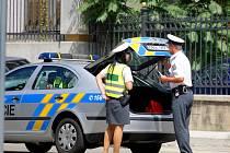 Řidič Renaultu Clio srazil na přechodu v brněnské ulici Drobného chodkyni.