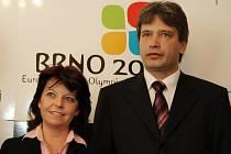Barbora Javorová a primátor Roman Onderka