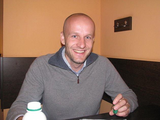 Aleš Makovec, majitel stejnojmenné pekárny z Velatic na Brněnsku, vyhrál v soutěži Kornspitz roku 2013.