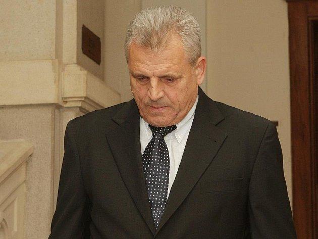 František Příplata u brněnského krajského soudu.