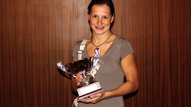 Plavkyně brněnské Komety Silvie Rybářová v Argentině.