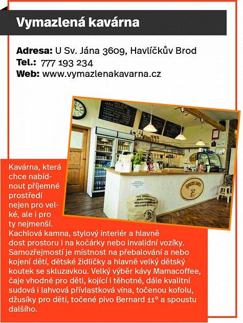 Vymazlená kavárna, Havlíčkův Brod