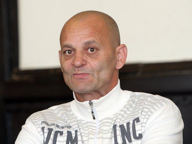 Antonín Berky u soudu.