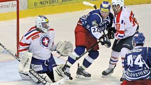 Po úterní porážce v Olomouci se hokejisté brněnské Komety dočkali prvního vítězství v sérii letních přípravných duelů. Na ledě prvoligové Třebíče ve čtvrtek zvítězili vysoko 6:2.