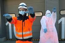 Do výzvy Coronavirus Dance Challenge se zapojili i jihomoravští záchranáři.