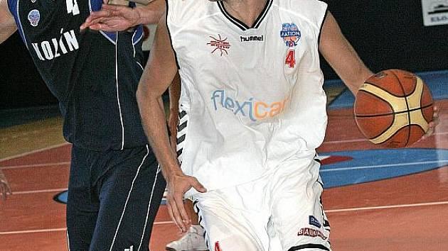 Basketbalista Štěpán Reinberger.