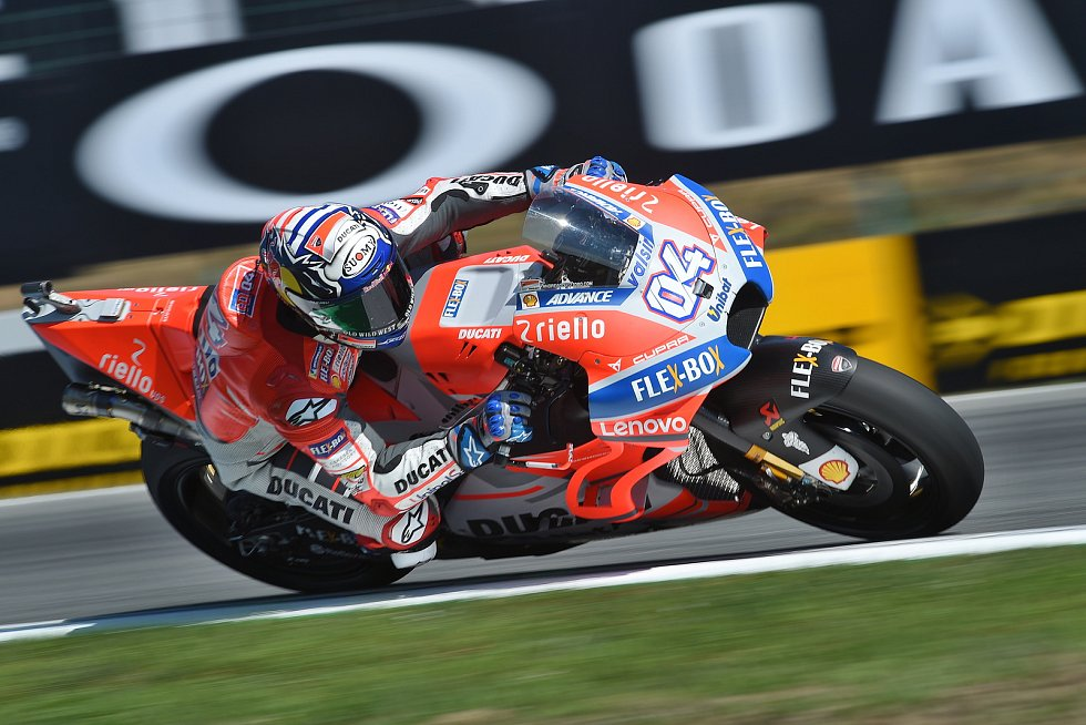 Sobotní kvalifikace na Grand Prix ČR - Andrea Dovizioso