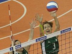 V nově vzniklém družstvu si zahraje třeba bývalá reprezentantka Kristýna Boulová (vpravo).