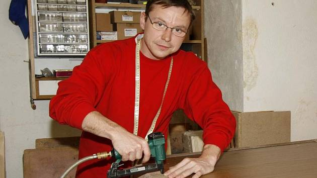 Čalouník Karel Andrysík