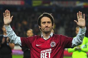 Fotbalista Tomáš Rosický.